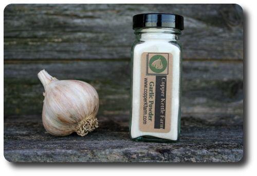 Pure Garlic Powder Spice Jar